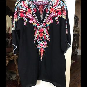 Tops - Johnny Was tunic top